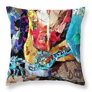 New Spurs Throw Pillow by Suzy Pal Powell