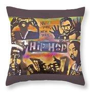 New York New York Throw Pillow by Tony B Conscious