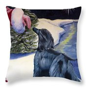 Night Before Xmas Throw Pillow by Terry  Chacon