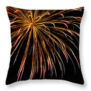 Night Colors Throw Pillow by Phill Doherty