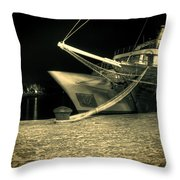 Nirvana Throw Pillow by Jasna Buncic