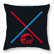 No155 My Star Wars Episode V The Empire Strikes Back Minimal Movie Poster Throw Pillow by Chungkong Art
