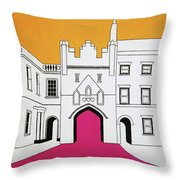 North Bar Throw Pillow by Oliver Johnston