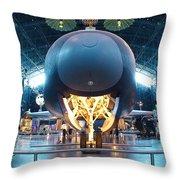 Nose Down - Enterprise Throw Pillow by Charles Kraus