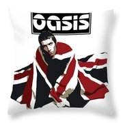 Oasis No.01 Throw Pillow by Unknow