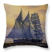 Ocean Dawn Throw Pillow by James Williamson