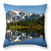 October Reflection Throw Pillow by Winston Rockwell