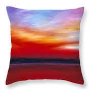 October Sky  Throw Pillow by James Christopher Hill