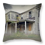 Odenton House Throw Pillow by Brian Wallace