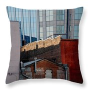 Old And New Close Together Throw Pillow by Susanne Van Hulst