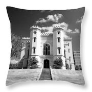 Old State Capital Throw Pillow by Scott Pellegrin