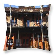 Old Ybor Throw Pillow by David Lee Thompson
