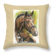 Oldenberg Throw Pillow by Barbara Keith