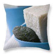 Olive Oil Soaps Throw Pillow by Frank Tschakert
