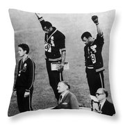 Olympic Games, 1968 Throw Pillow by Granger