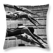 Olympic Games, 1972 Throw Pillow by Granger