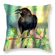 On The Outside Looking In Throw Pillow by Arline Wagner