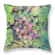 On The Vine Throw Pillow by Arline Wagner