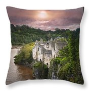 Once Upon A Time Throw Pillow by Vicki Lea Eggen