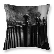 One Missing Throw Pillow by Teresa Mucha