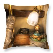 Optometrist - Night Stand  Throw Pillow by Mike Savad