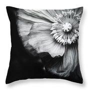 Oriental Poppy Throw Pillow by Charmian Vistaunet