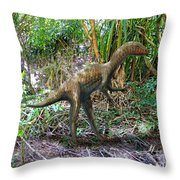 Othiniela In The Forest Throw Pillow by Frank Wilson