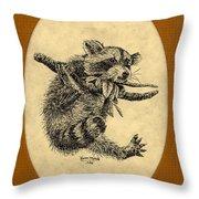 Out On A Limb Throw Pillow by Karen Musick