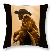 Out West Throw Pillow by Corey Ford
