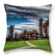 Oz Throw Pillow by Spencer McDonald