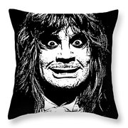Ozzy No.01 Throw Pillow by Caio Caldas