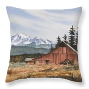 Pacific Northwest Landscape Throw Pillow by James Williamson