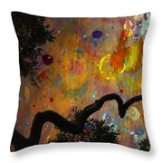 Painted Skies Throw Pillow by Jan Amiss Photography