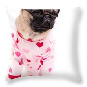 Pajama Party Throw Pillow by Edward Fielding