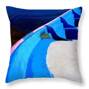 Panga 2 by Michael Fitzpatrick Throw Pillow by Mexicolors Art Photography