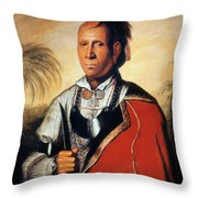 Parsons - Cherokee 1762 Throw Pillow by Granger