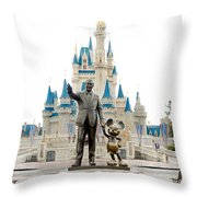 Partners Throw Pillow by Greg Fortier