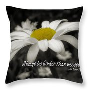 Pay It Forward Quote Throw Pillow by JAMART Photography