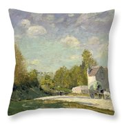 Paysage Throw Pillow by Alfred Sisley