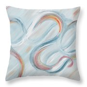 Peace Throw Pillow by Nadine Rippelmeyer