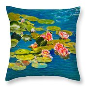Peaceful Belonging Throw Pillow by Michael Durst