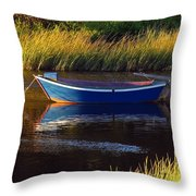 Peaceful Cape Cod Throw Pillow by Juergen Roth
