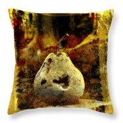 Pear Throw Pillow by BERNARD JAUBERT