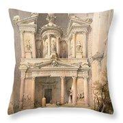 Petra Throw Pillow by David Roberts