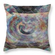 Pi Plus Throw Pillow by Christopher Gaston