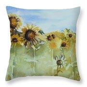 Pick Me Throw Pillow by Gretchen Bjornson