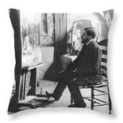 Piet Mondrian (1872-1944) Throw Pillow by Granger