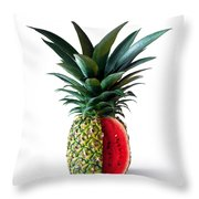 Pinemelon 2 Throw Pillow by Carlos Caetano