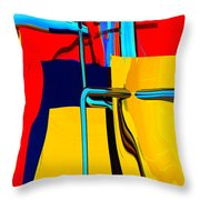 Pipe Dream Throw Pillow by Richard Rizzo