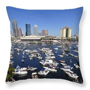 Pirate Invasion 2012 Throw Pillow by David Lee Thompson